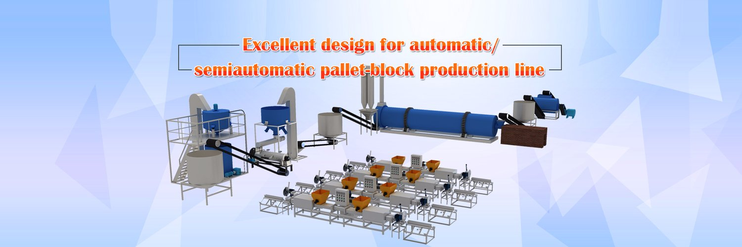 pallet block production line