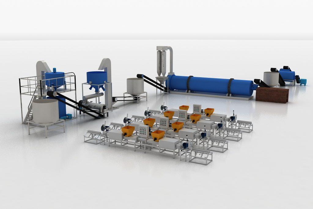 Thoyu pallet block production line
