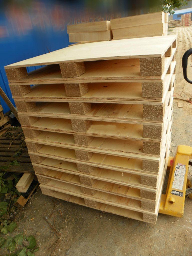 wood pallet block making machine and wood pallet machine are