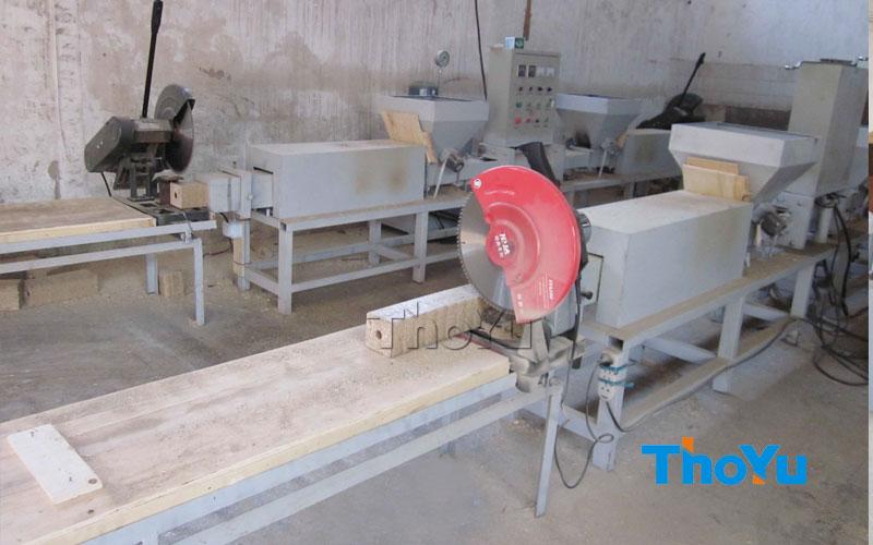 Compressed Wood Block Making Machine