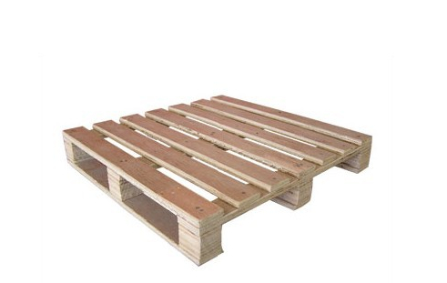 Multilayer plywood pallet block for wooden pallet