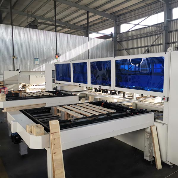 CNC Pallet Nailing Machine and Pallet Stacker