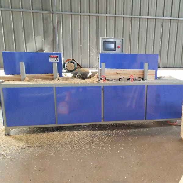 Automatic Pallet Wood Chamfering Machine